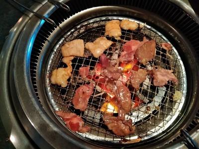 琵琶湖に向かう途中の岐阜県養老(焼肉で有名らしい)でランチ。昼からビール&焼肉だ!