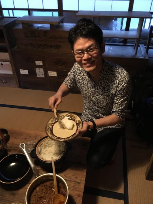 松本さんの「らっきょうカレー」も美味しいけれど、とにかくご飯が絶品!