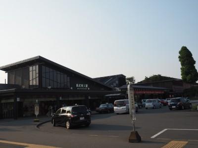 西武秩父駅は、広いフードコートやお土産売り場、銭湯まで併設。西武鉄道の秩父観光開発への本気度を感じました。