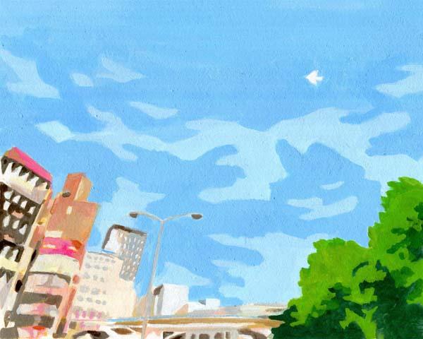 失恋ミュージアム10月号イラスト
