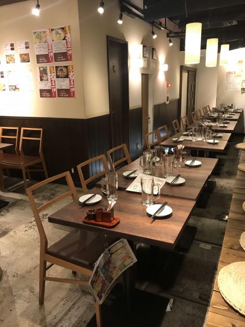 会場は、多田さんの息子さんがアルバイトしている居酒屋「鳥牛」。駅から近くておいしくて、いい店!