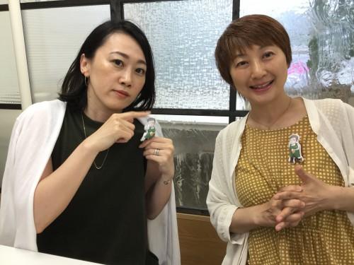 細心かつ大胆なチーママをしてくれたロミコさん(左)と小野寺さん。すべてお任せしちゃいました。この安心感!